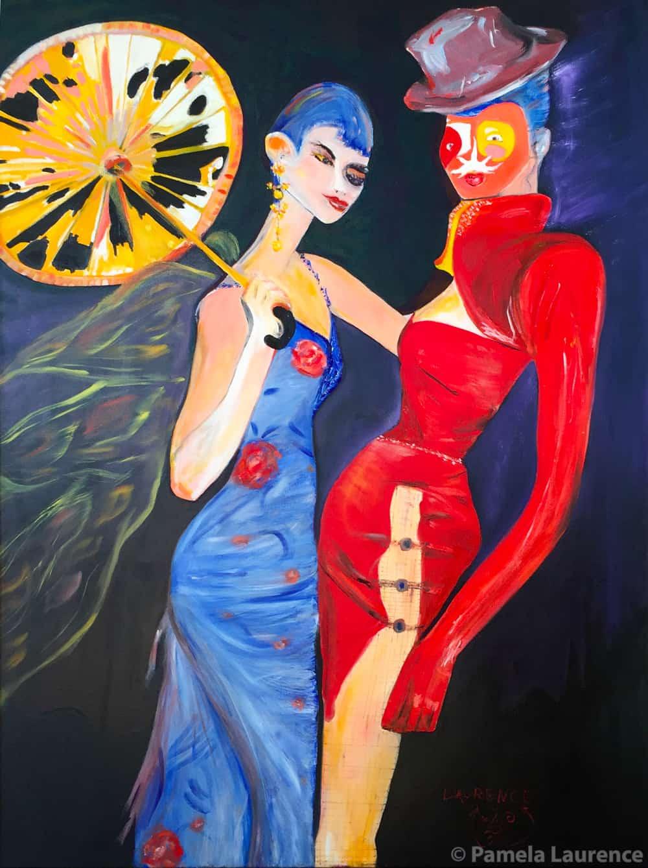 TwoGirlsMasquerade