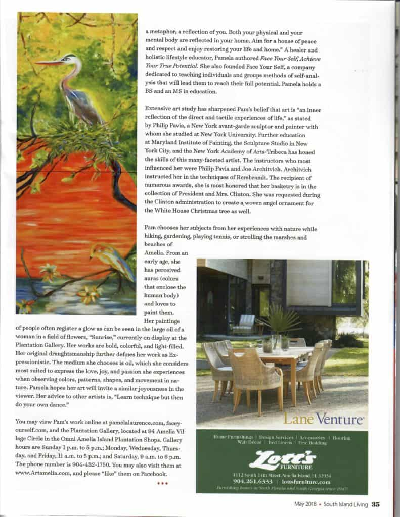 South Island Living article page 2